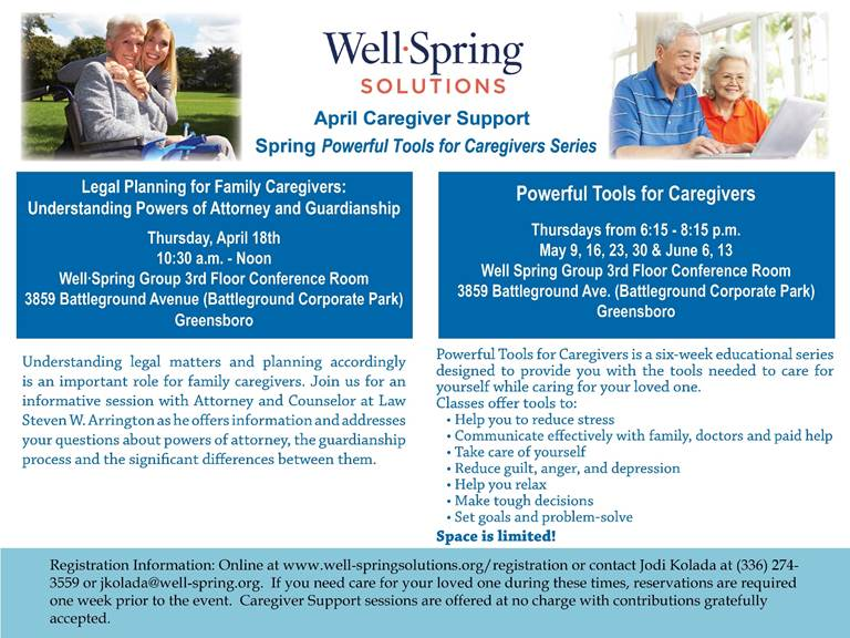 Legal Planning for Caregivers: Understanding Powers of Attorney and Guardianship