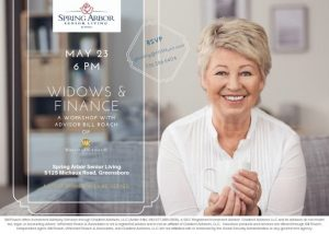 Widows and Finance @ Spring Arbor Senior Living